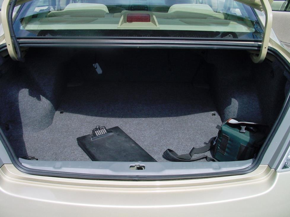 2007 Nissan Altima Interior Dimensions