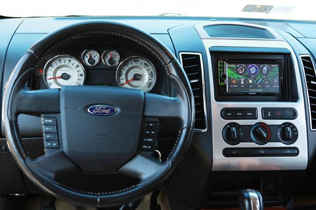 Add A Touchscreen Stereo Keep Your Car's Factory Featuresrhcrutchfield: 2007 Ford F 150 Radio Conversion At Gmaili.net