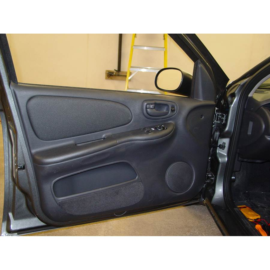 2001 Dodge Neon Front door speaker location