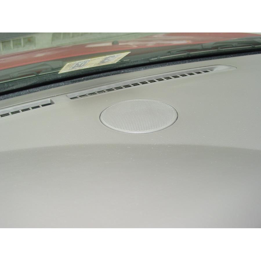 2004 Dodge Stratus Center dash speaker location