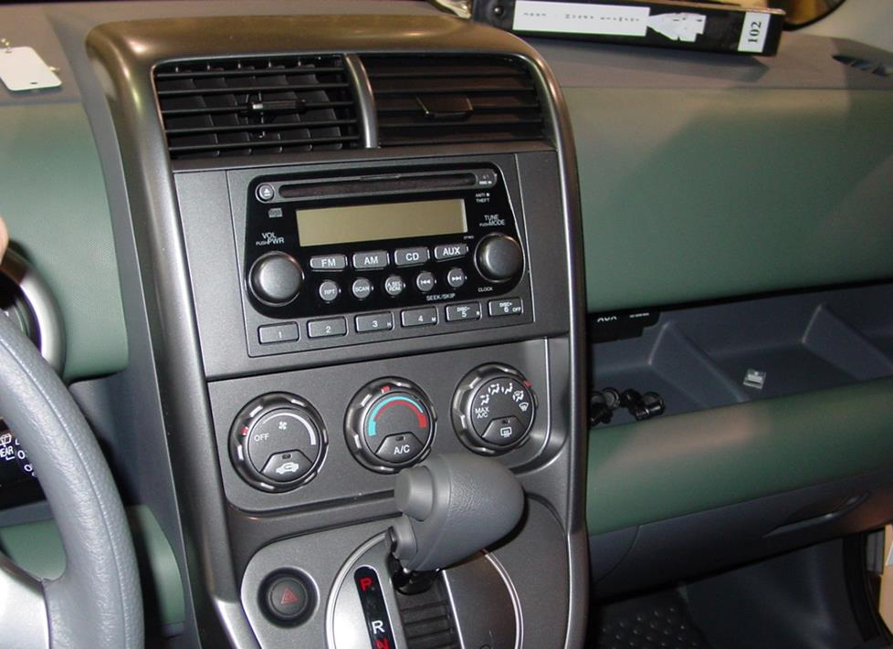 Honda Element radio