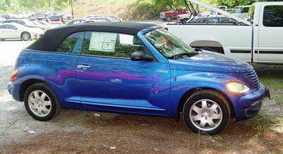 2001-2005 Chrysler PT Cruiser