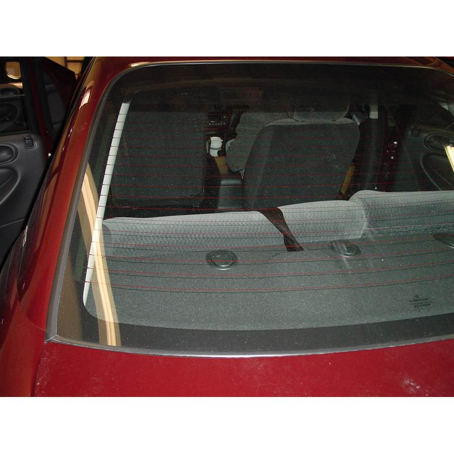 2004 Dodge Stratus Rear deck speaker location