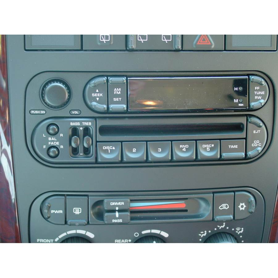 2004 Dodge Caravan Factory Radio