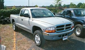 1998 Dodge Dakota Exterior