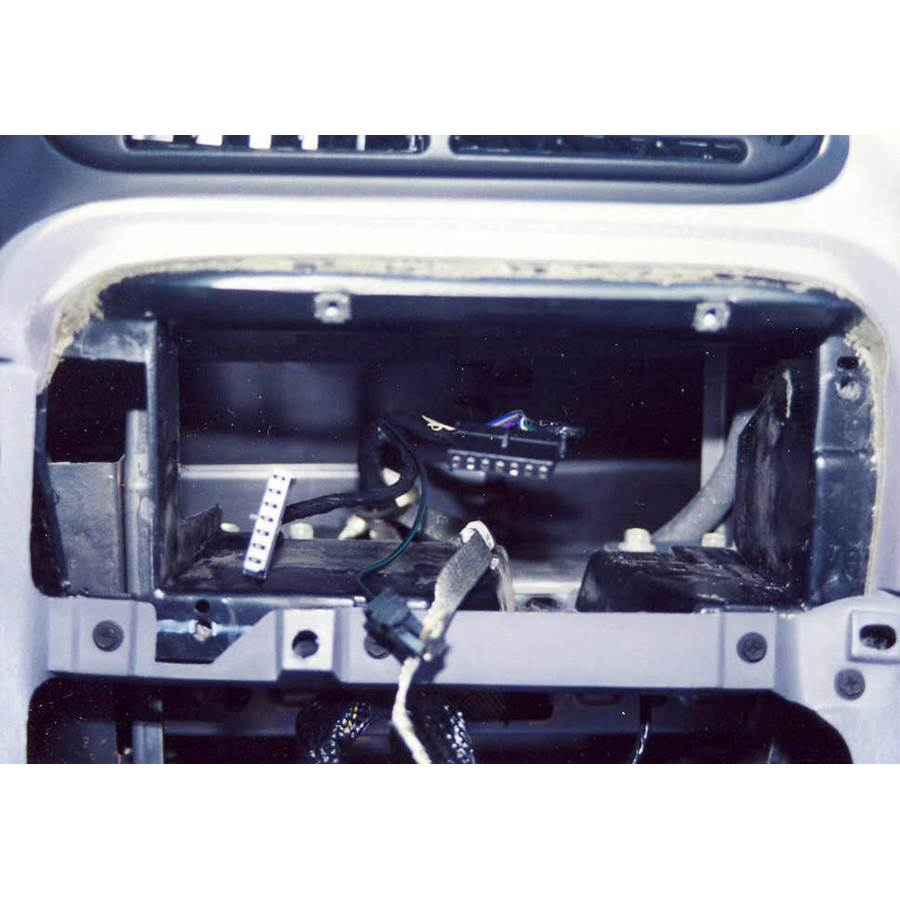 1997 Dodge Caravan Factory radio removed