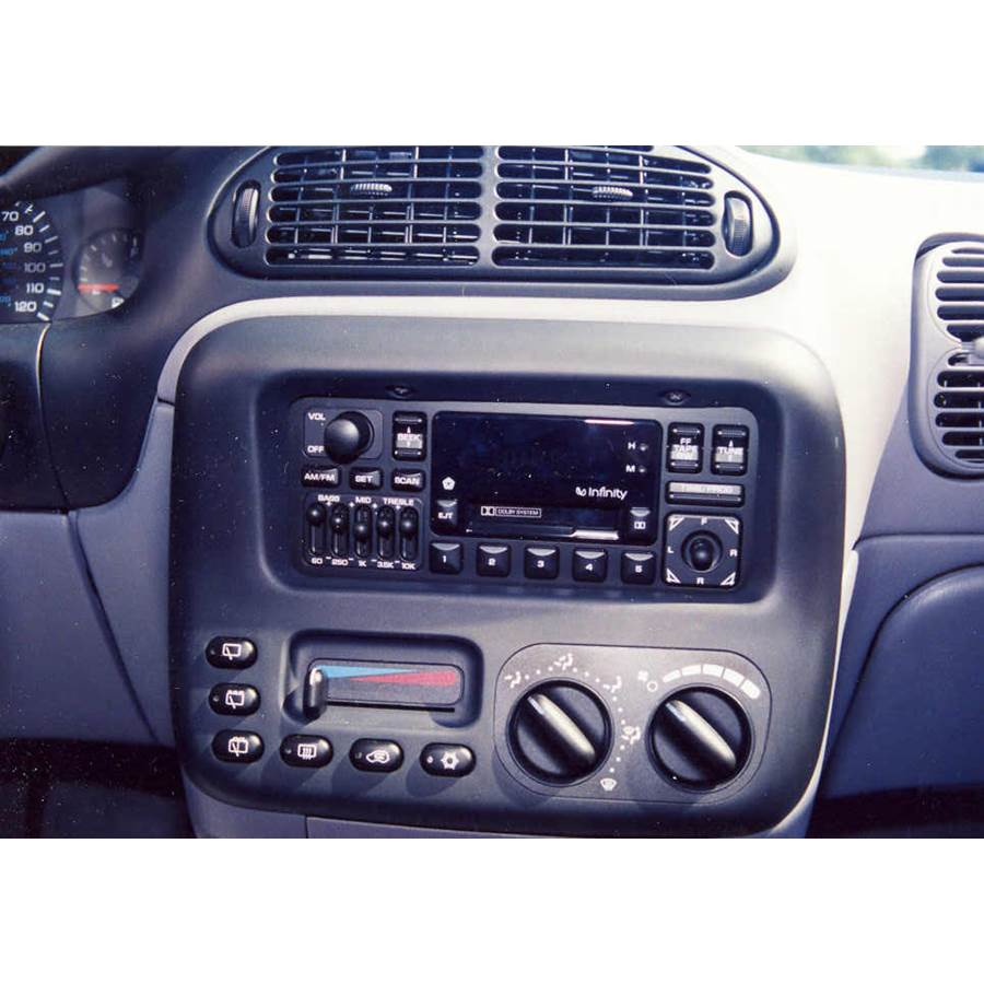 1997 Dodge Caravan Factory Radio