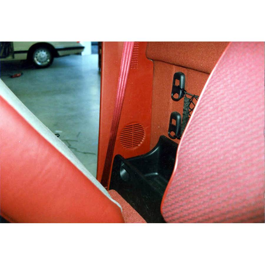 1996 Dodge Laramie Rear side panel speaker location