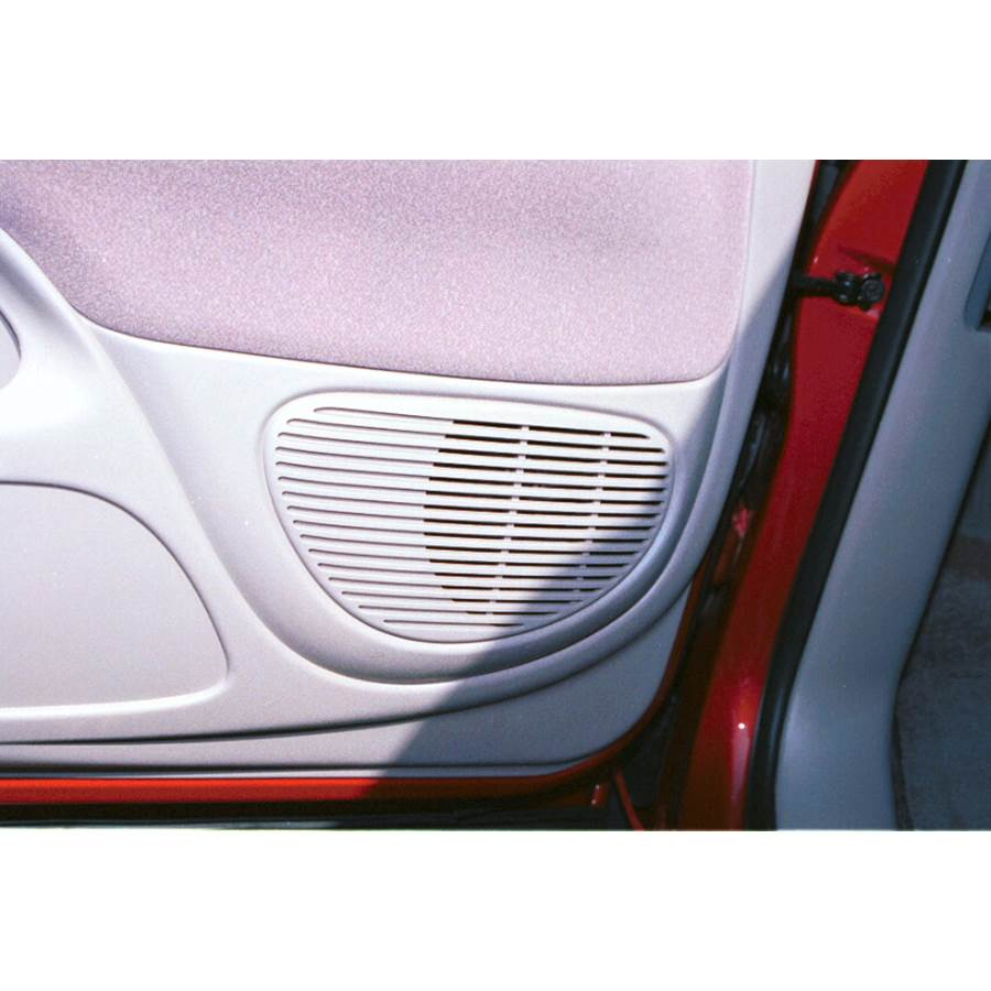 2003 Toyota Tundra Front door speaker location