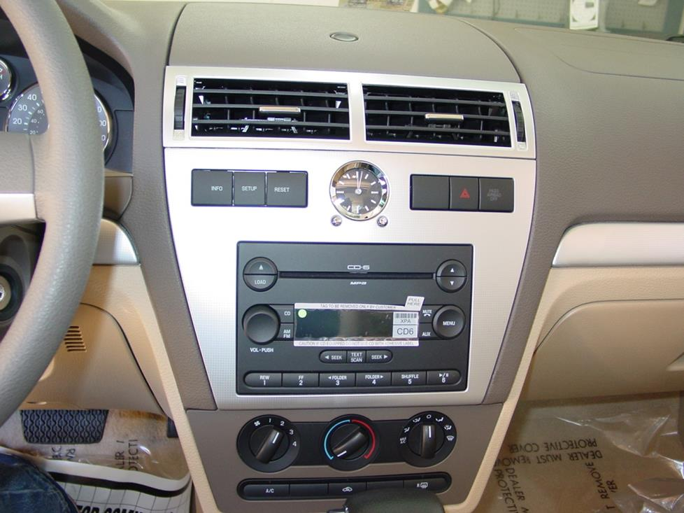 radio 2006 2009 ford fusion and mercury milan car audio profile  at bayanpartner.co