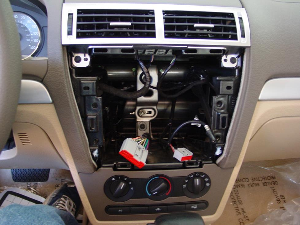 Upgrading The Stereo System In Your 2006 2009 Ford Fusion Or Mercury Milan