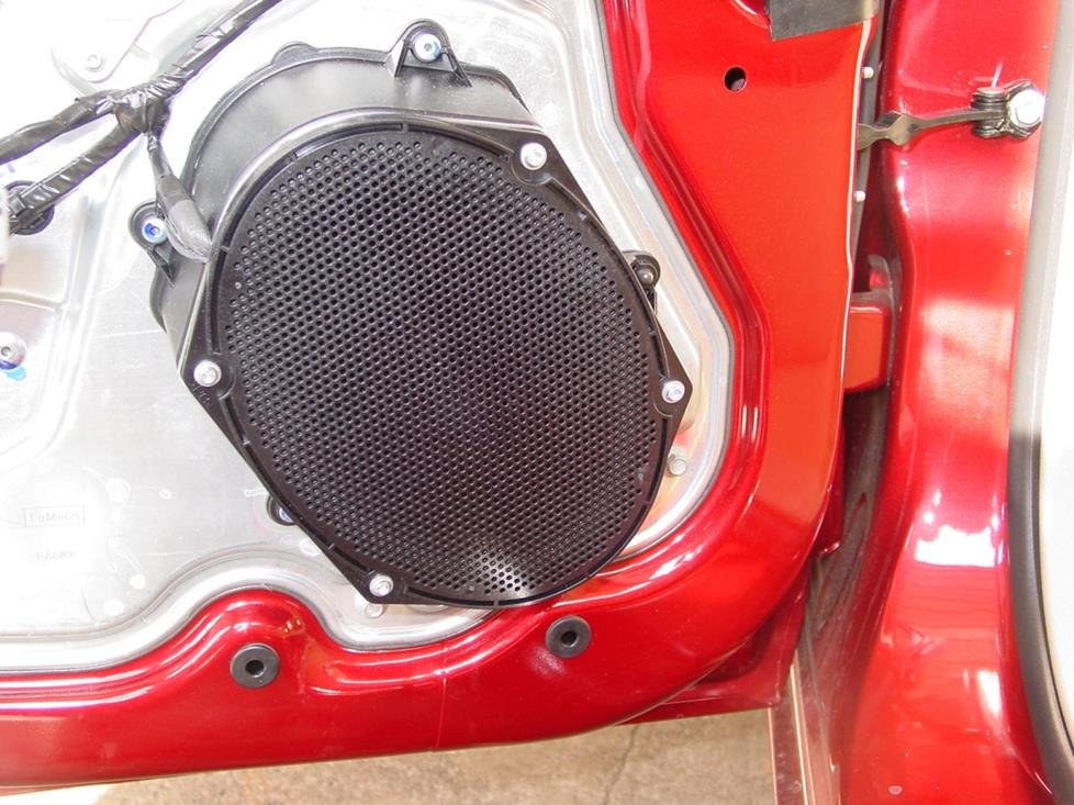 Mercury Milan rear door speaker