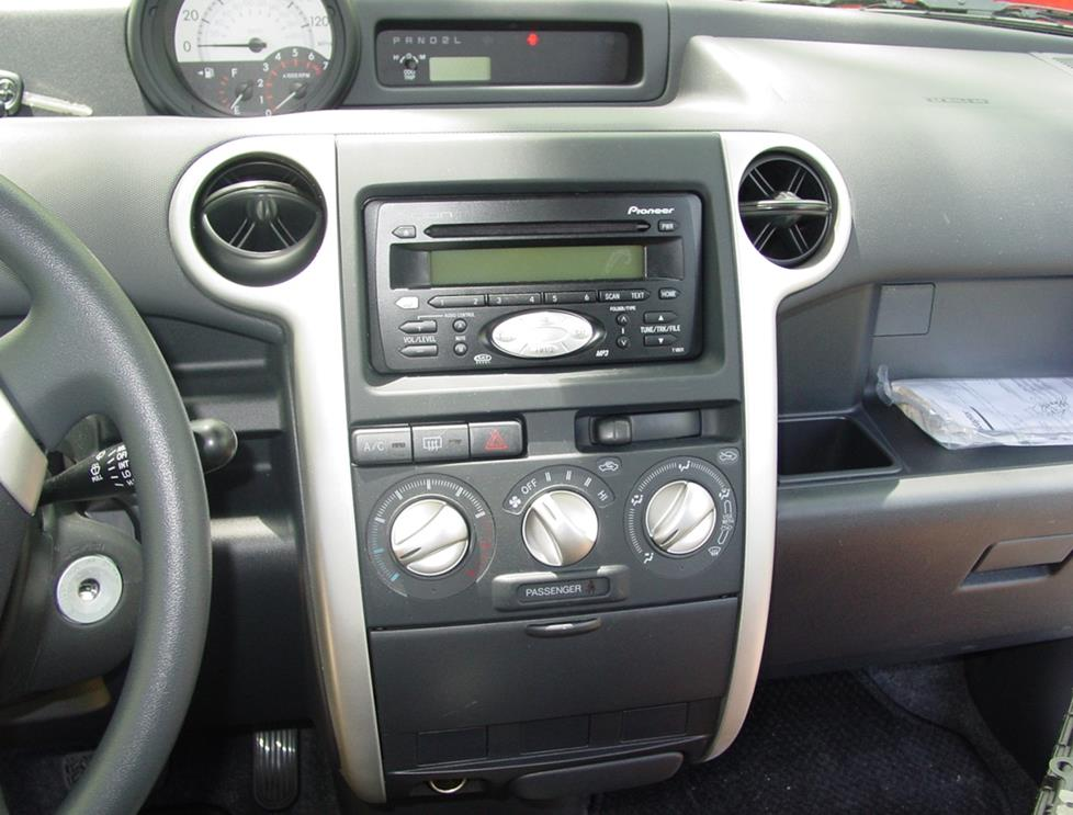 radio how to install new audio gear in your 2004 2006 scion xb 2005 Scion xB Parts Diagram at bayanpartner.co
