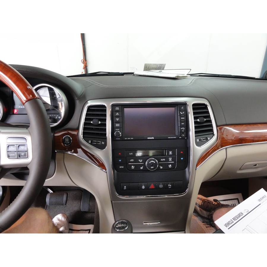 2012 Jeep Grand Cherokee Other factory radio option