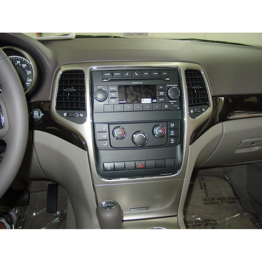 2012 Jeep Grand Cherokee Factory Radio