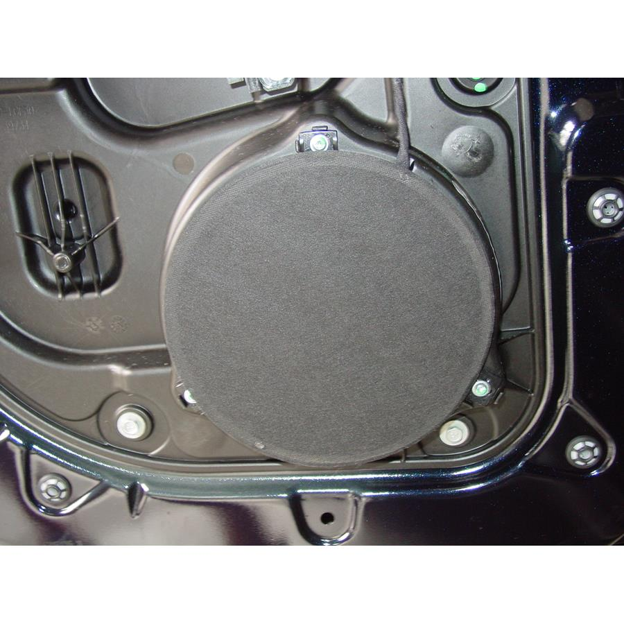 2012 Jeep Grand Cherokee Rear door speaker