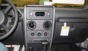 2007 Jeep Wrangler Factory Radio