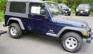2006 Jeep Wrangler Unlimited Exterior