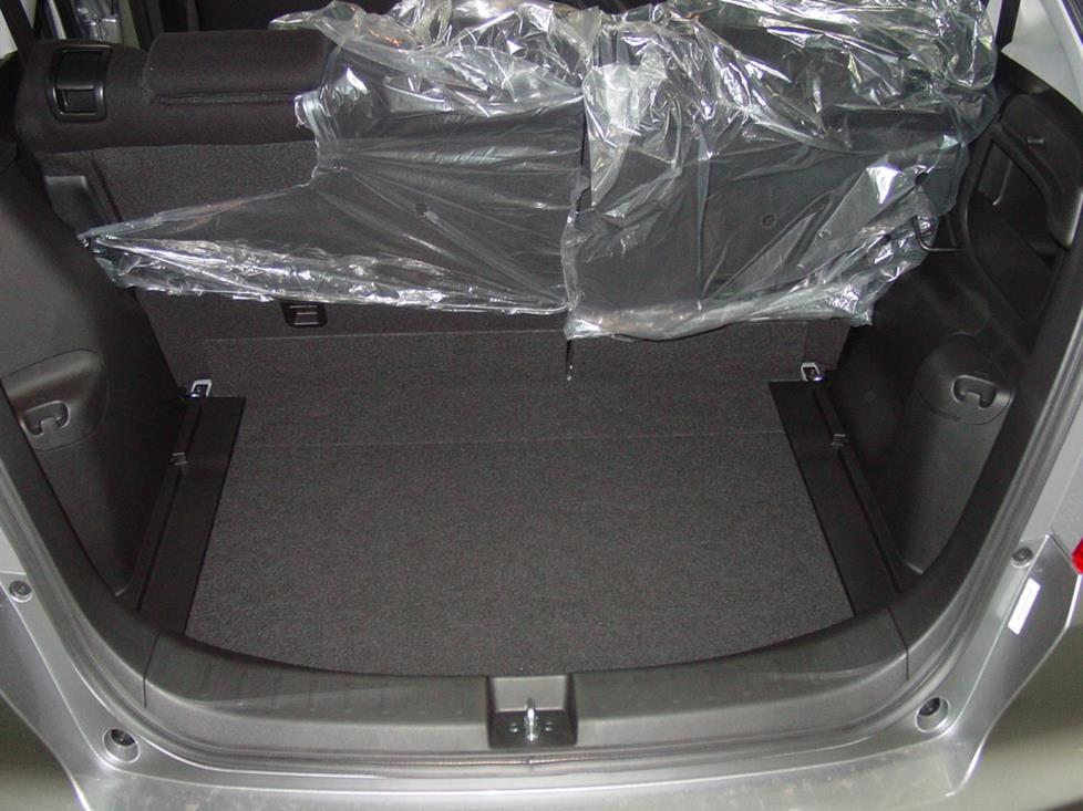 honda fit cargo area