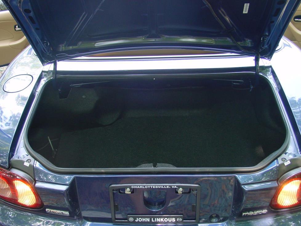 trunk 2001 2005 mazda mx 5 miata car audio profile  at gsmportal.co