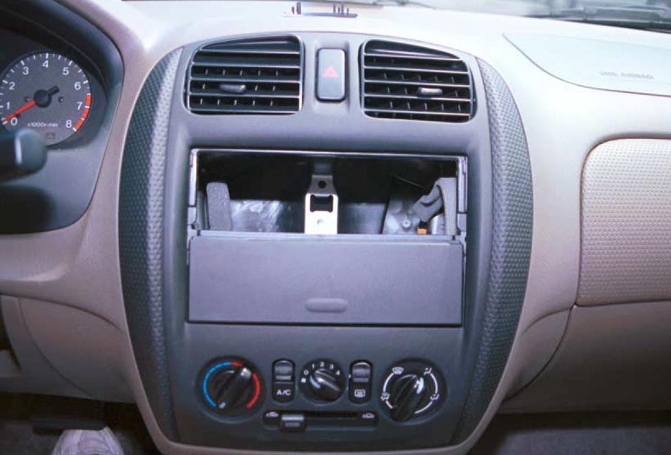 1999 2000 mazda protege car audio profile. Black Bedroom Furniture Sets. Home Design Ideas