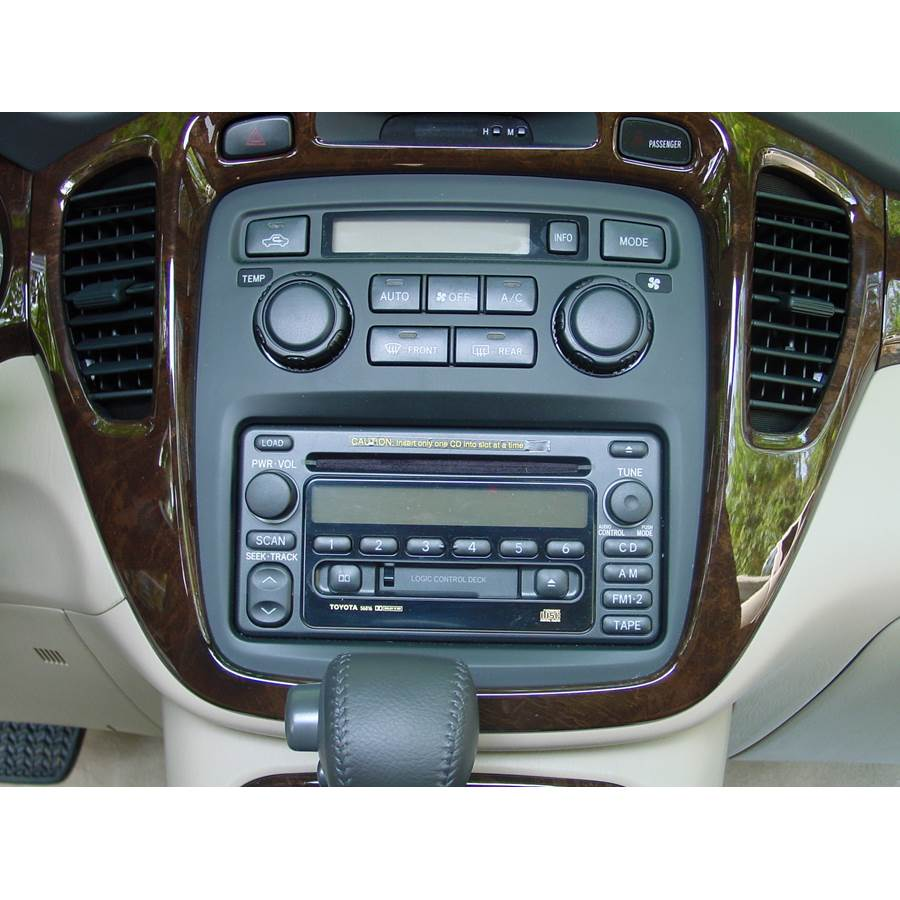 2007 Toyota Highlander Factory Radio