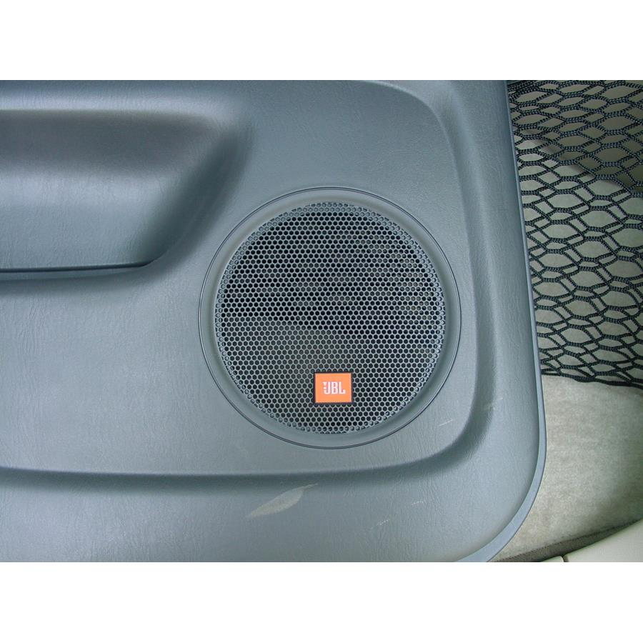 2007 Toyota Highlander Rear door speaker location