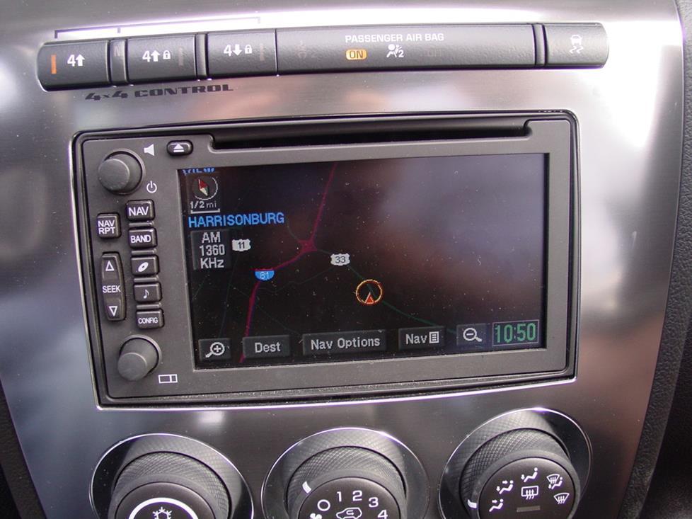 Radionav on 2006 Hummer H3 Radio Wiring Diagram
