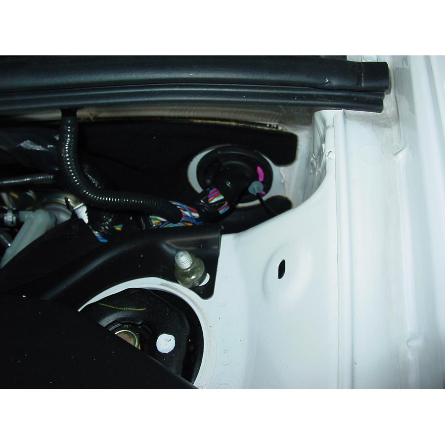 2007 Toyota Highlander Firewall access