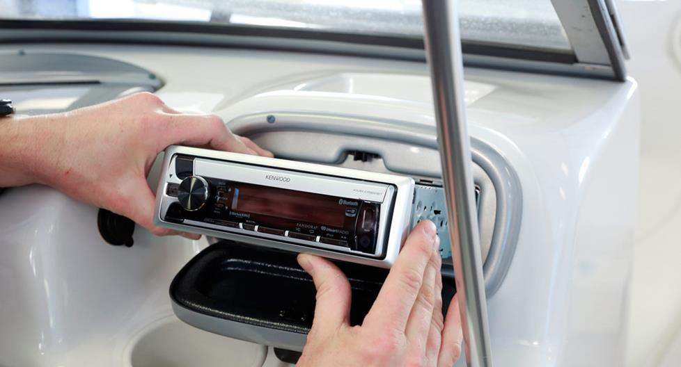 Kenwood marine CD receiver