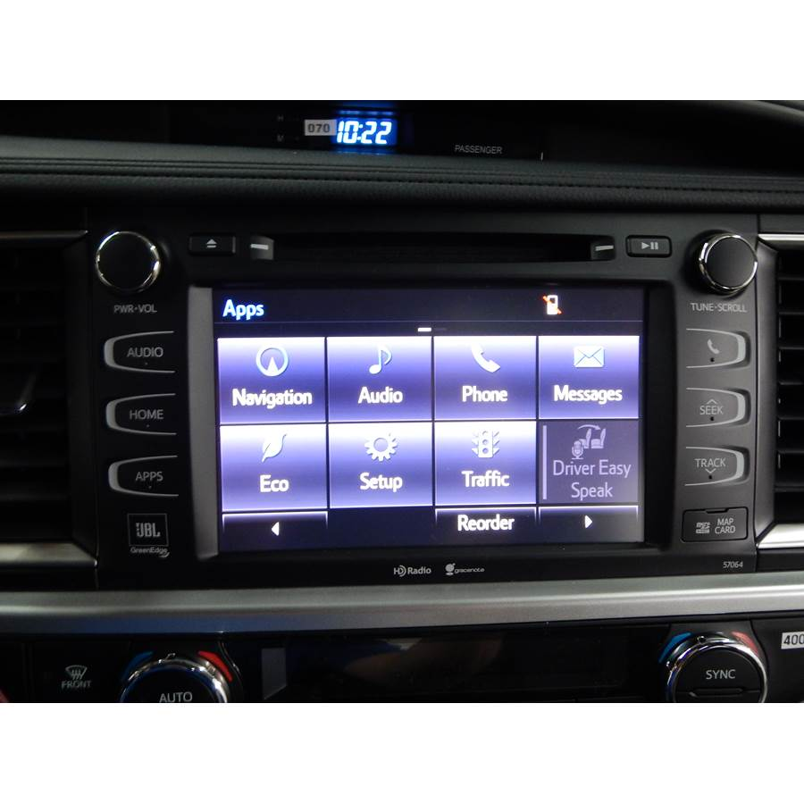 2015 Toyota Highlander Factory Radio