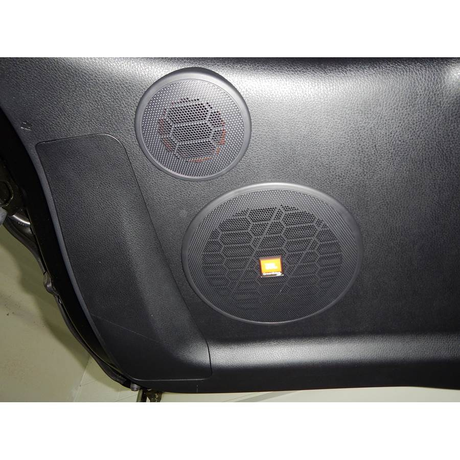 2015 Toyota Highlander Tailgate speaker location
