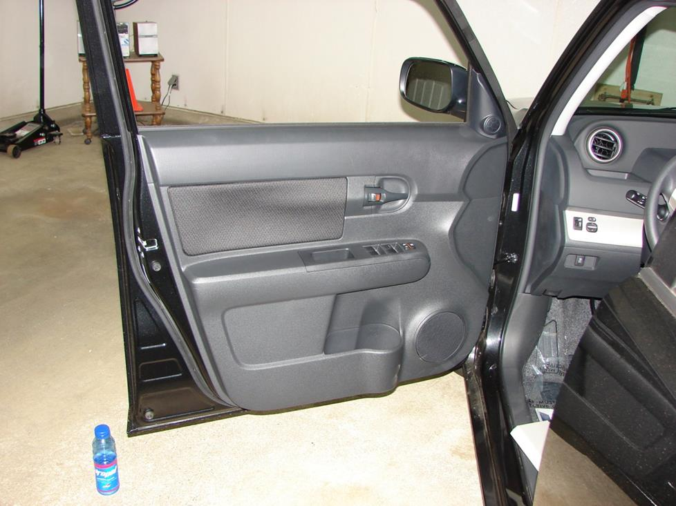 Scion xB front door