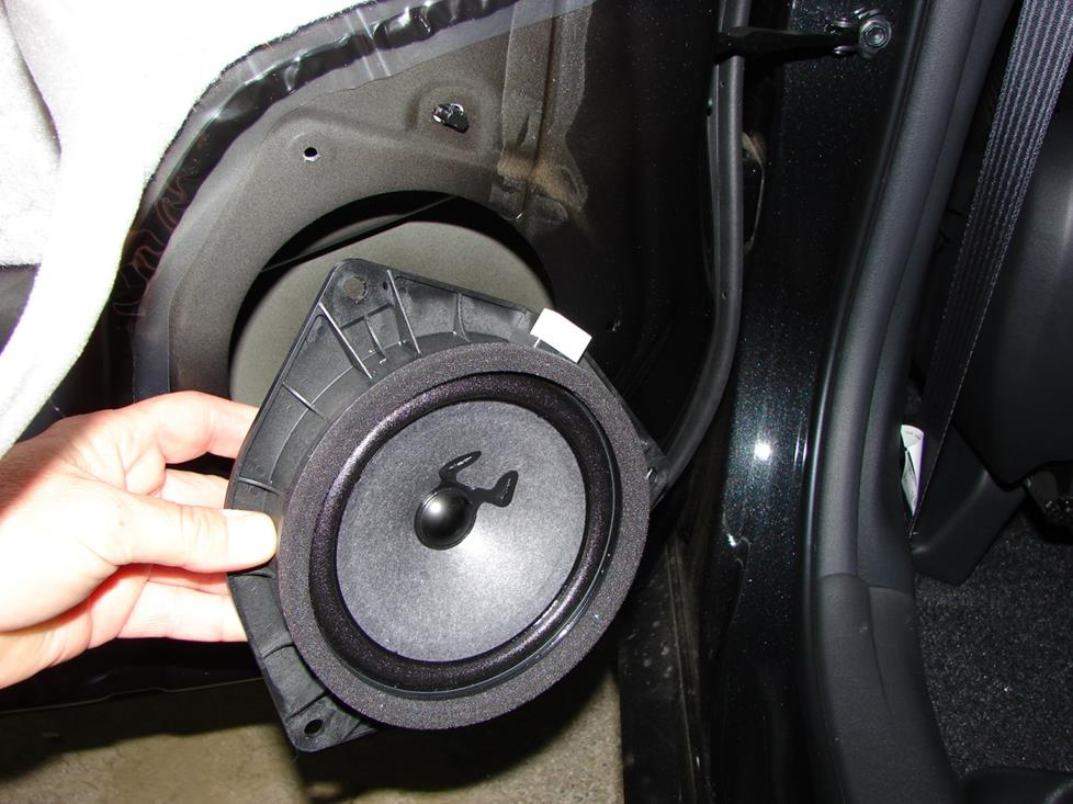 Scion xB rear door speaker