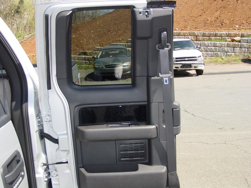 Ford F-150 Super Cab rear door & 2009-2012 Ford F-150 SuperCab Car Audio Profile pezcame.com
