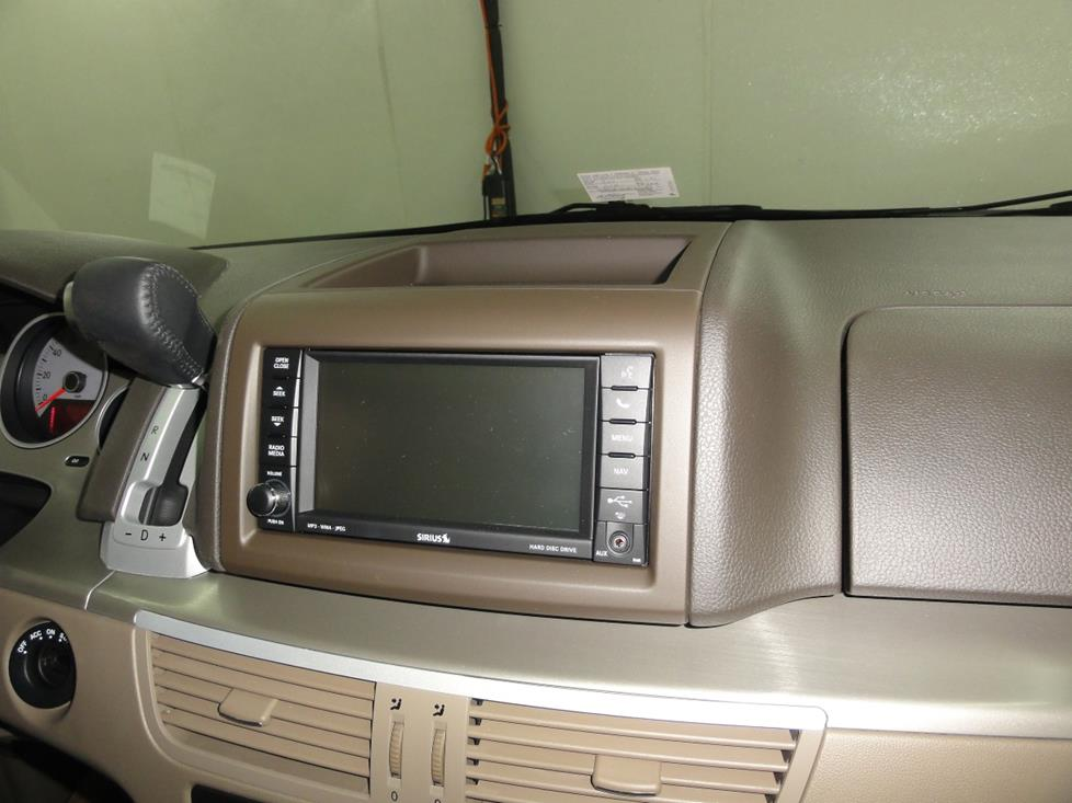 vw routan radio