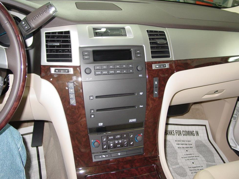 radio 2007 2014 cadillac escalade car audio profile  at sewacar.co