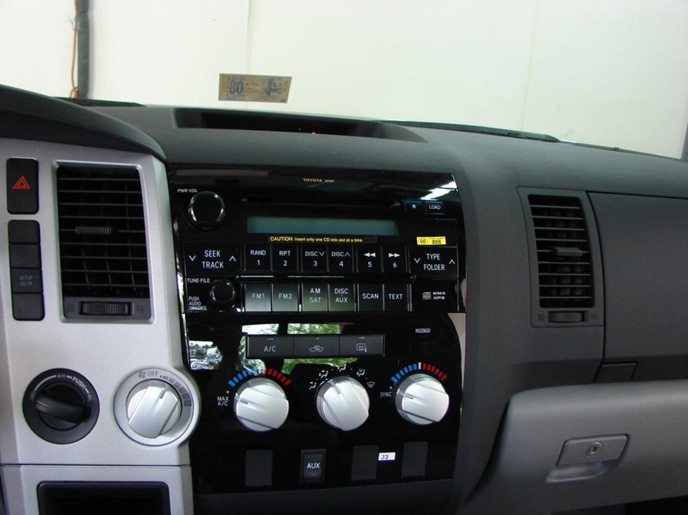 2007 2013 toyota tundra regular cab car audio profile. Black Bedroom Furniture Sets. Home Design Ideas