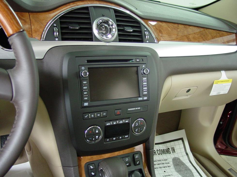 2008-2012 buick enclave car audio profile, Wiring diagram