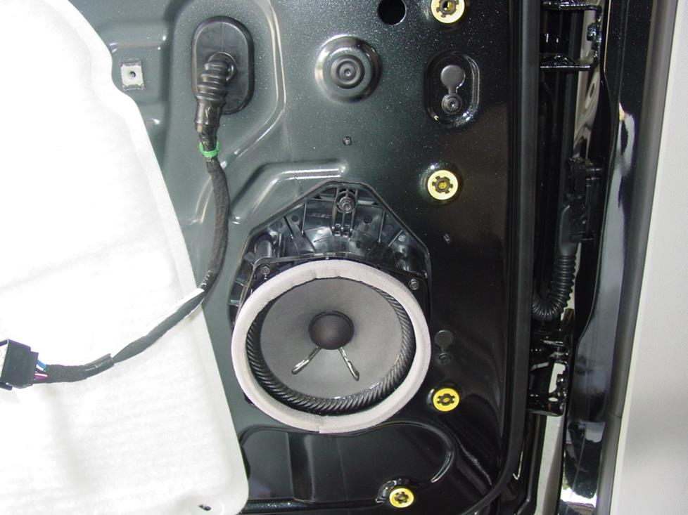 Buick Enclave rear door speaker