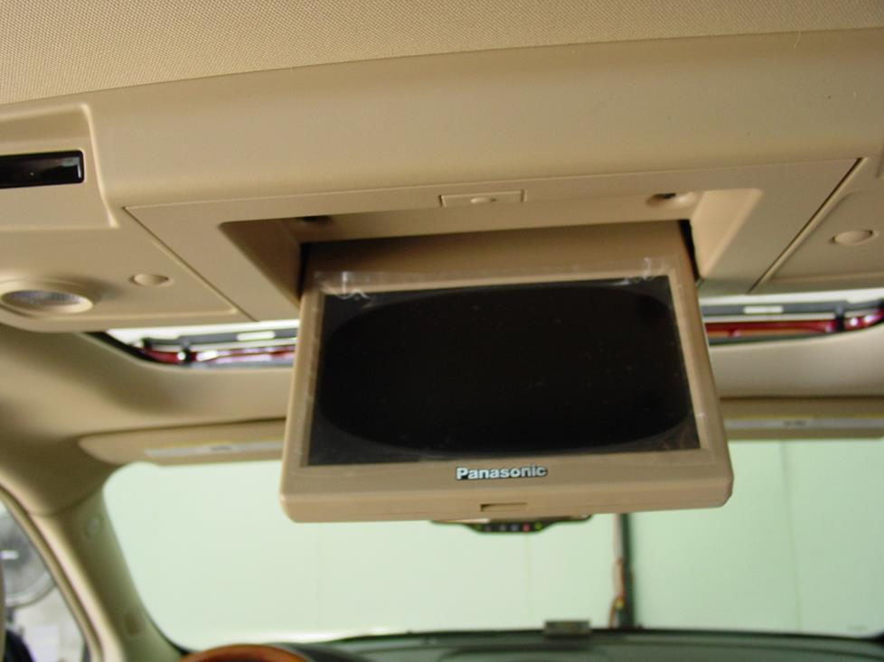 Buick Enclave rear seat video