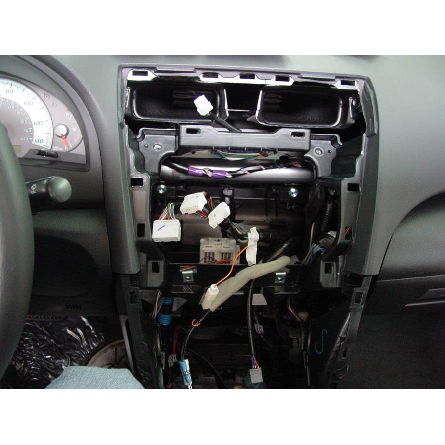 2011 Toyota Camry Hybrid Factory radio removed