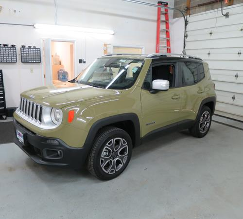 2017 Jeep Renegade Exterior