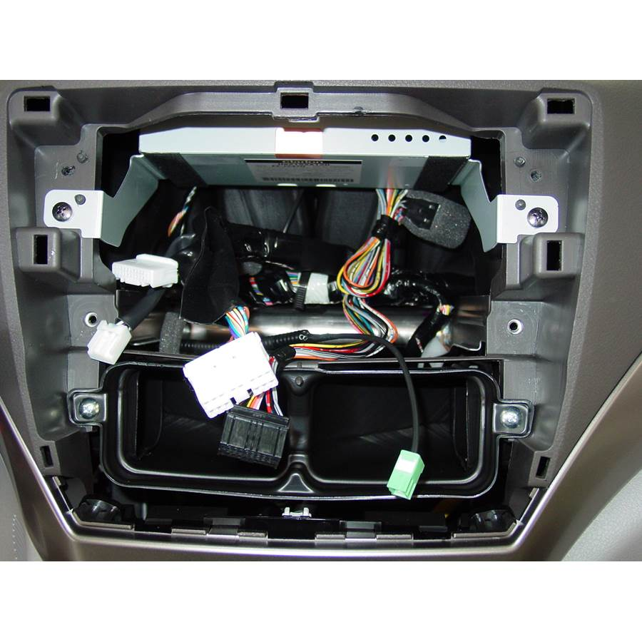 2009 Subaru Forester Factory radio removed