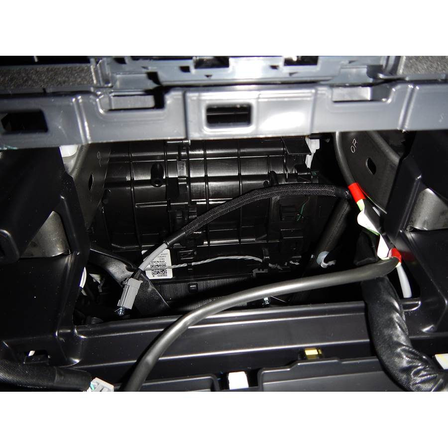 2014 Toyota Corolla Factory radio removed