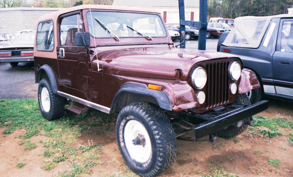 1973-1986 Jeep CJ5 and CJ7 on