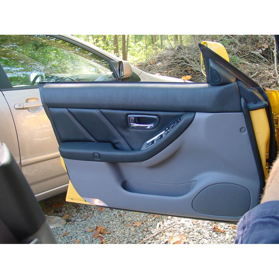 2006 Subaru Baja Front door speaker location