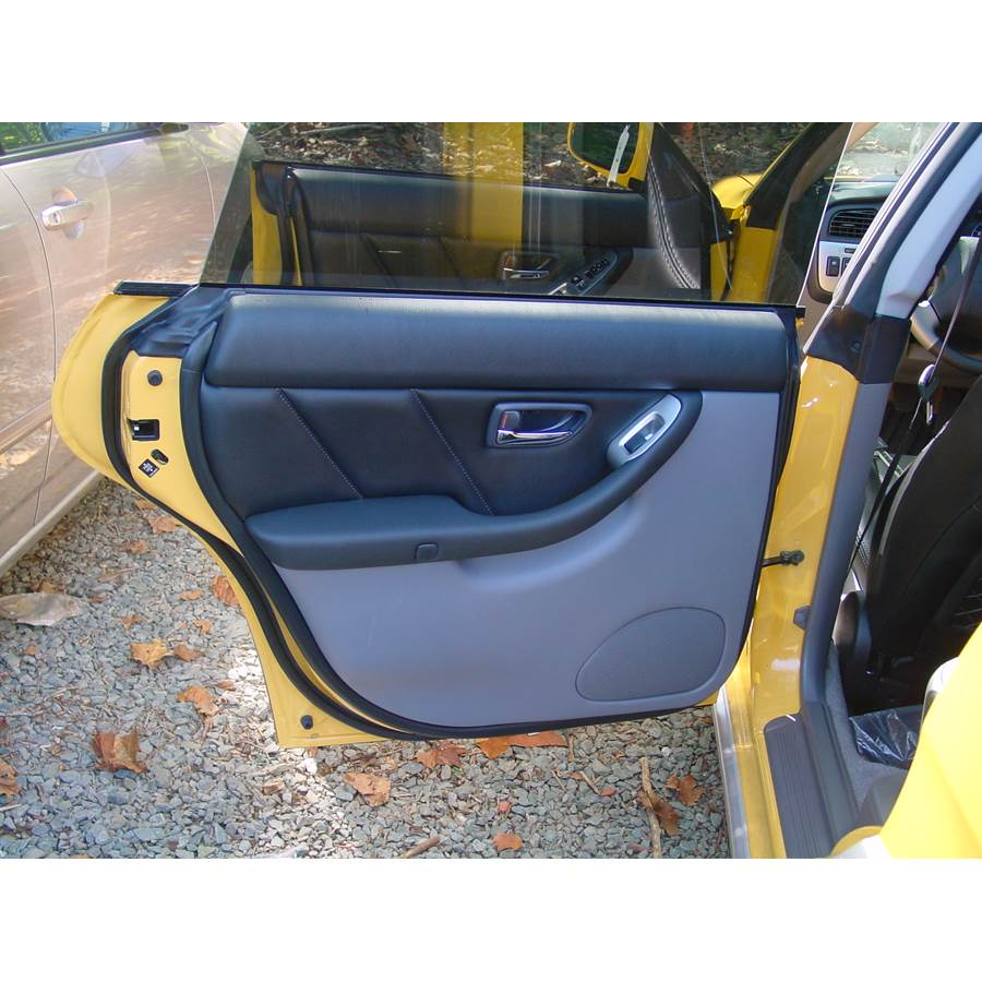 2006 Subaru Baja Rear door speaker location