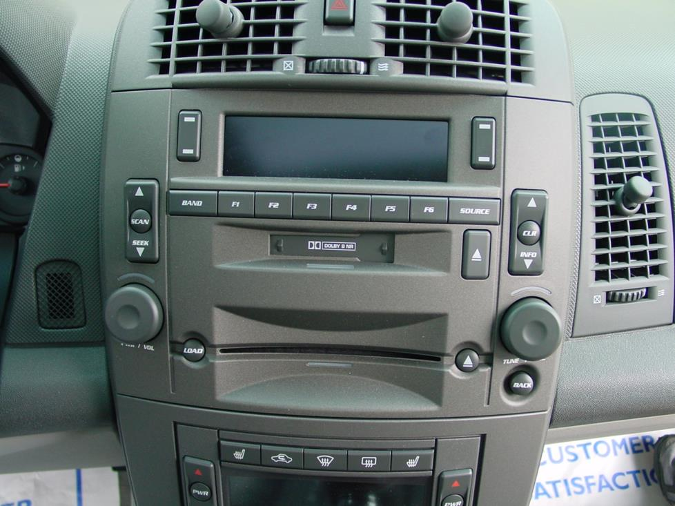 2003 2007 cadillac cts sedan car audio profile 05 cadillac cts cadillac cts base radio