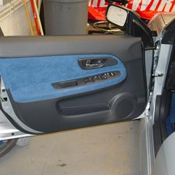 2007 Subaru Impreza Outback Sport Front door speaker location